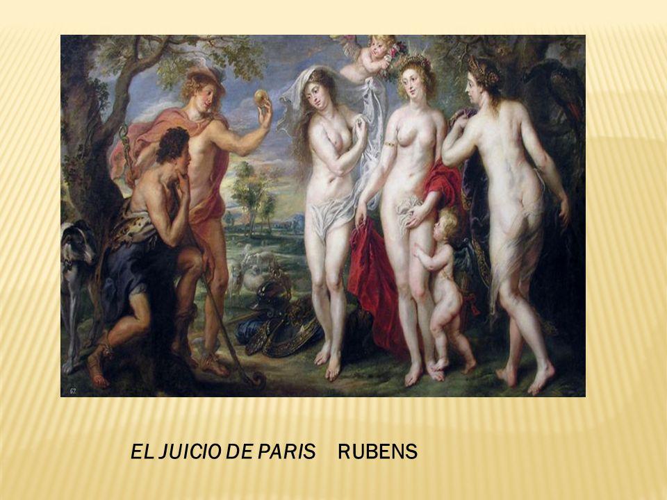 EL JUICIO DE PARIS RUBENS