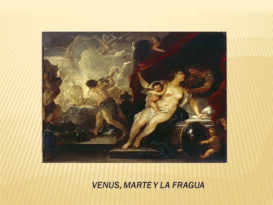 VENUS, MARTE Y LA FRAGUA