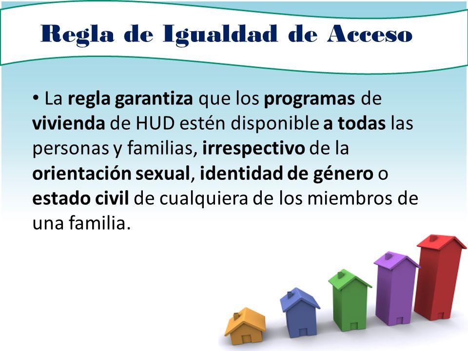 Regla de Igualdad de Acceso