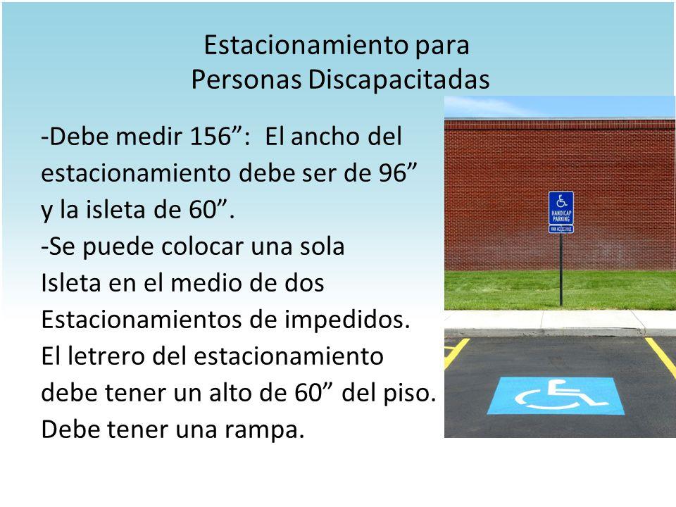 Estacionamiento para Personas Discapacitadas