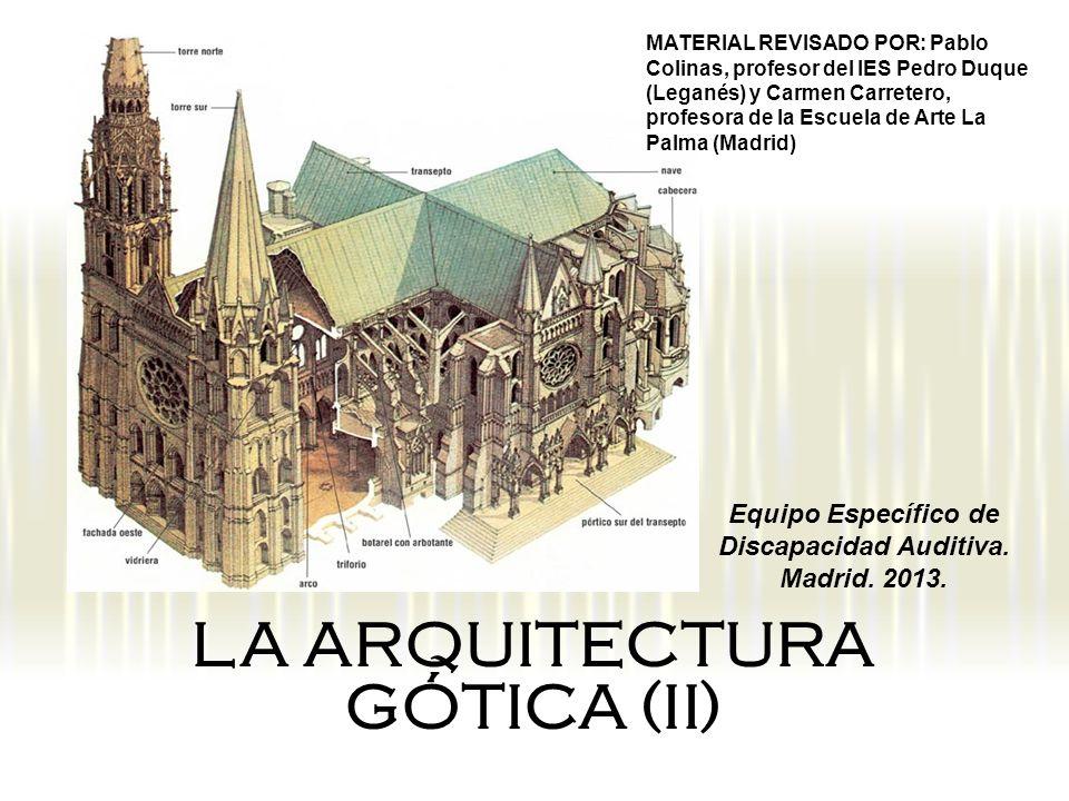 LA ARQUITECTURA GÓTICA (II)