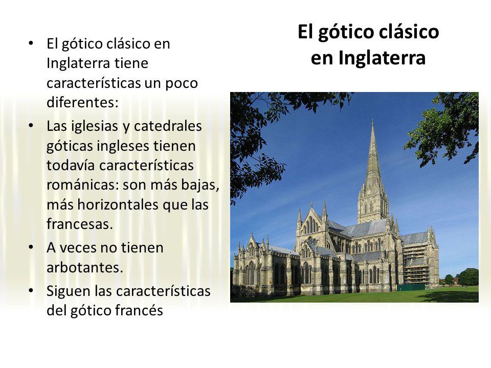El gótico clásico en Inglaterra