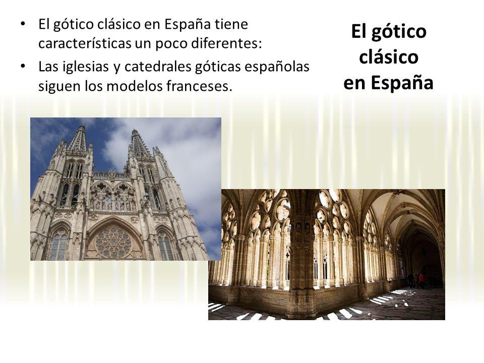 El gótico clásico en España