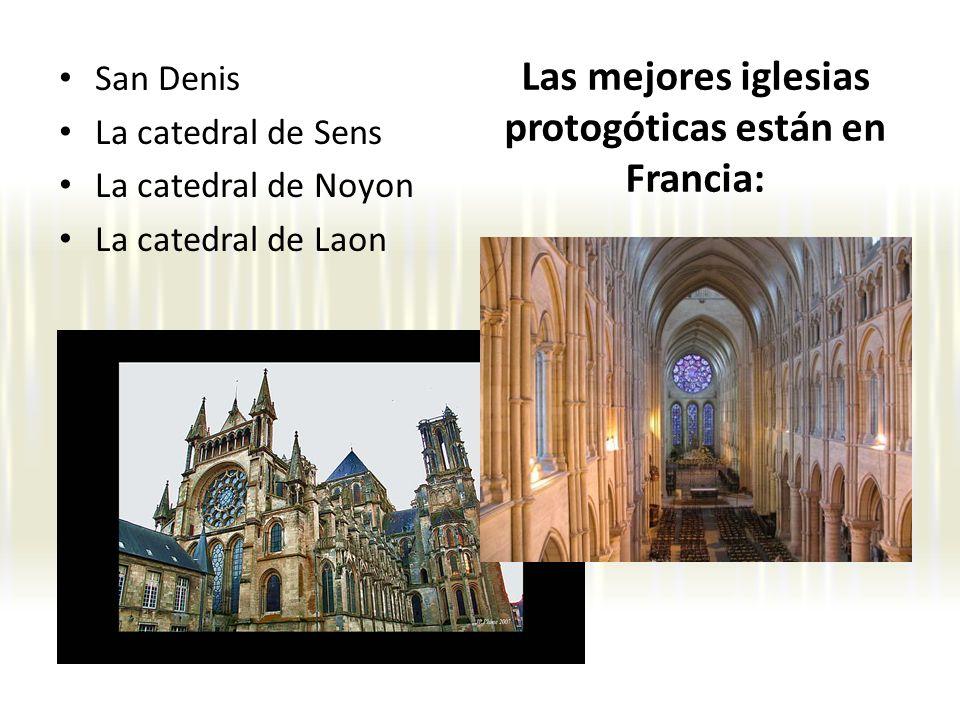 Las mejores iglesias protogóticas están en Francia: