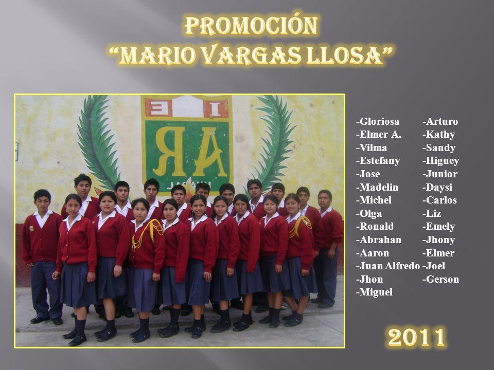 Promoción Mario Vargas Llosa