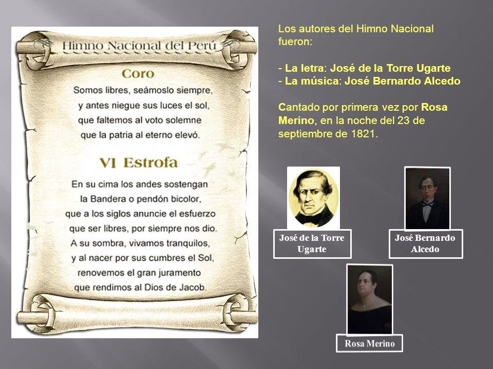 Los autores del Himno Nacional fueron: