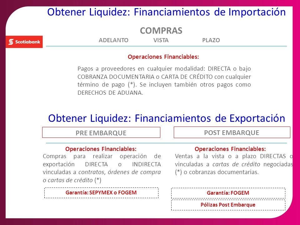 Obtener Liquidez: Financiamientos de Importación