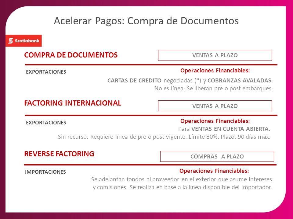 Acelerar Pagos: Compra de Documentos