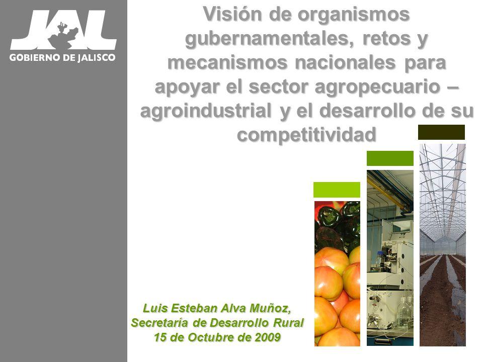 Luis Esteban Alva Muñoz, Secretaría de Desarrollo Rural