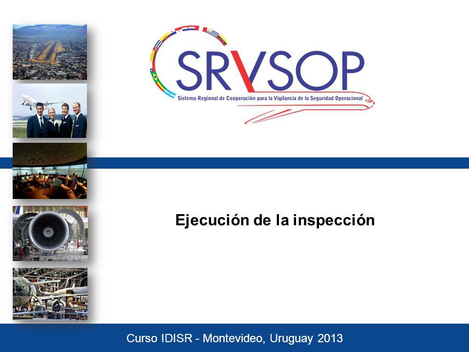 Ejecución de la inspección