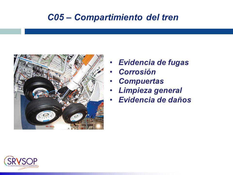 C05 – Compartimiento del tren