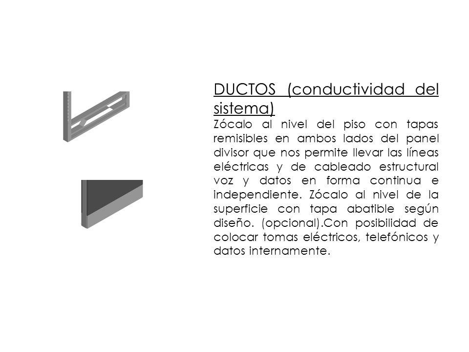 DUCTOS (conductividad del sistema)