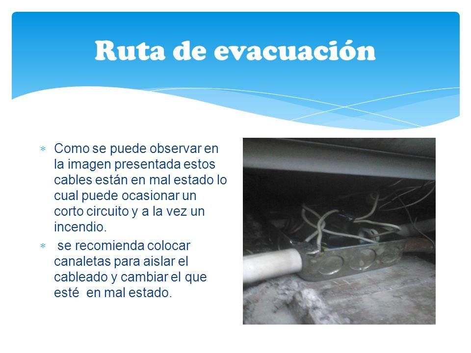 Ruta de evacuación