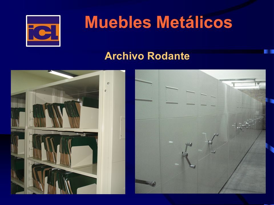 Muebles Metálicos Archivo Rodante