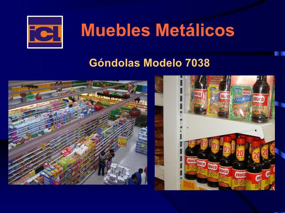 Muebles Metálicos Góndolas Modelo 7038