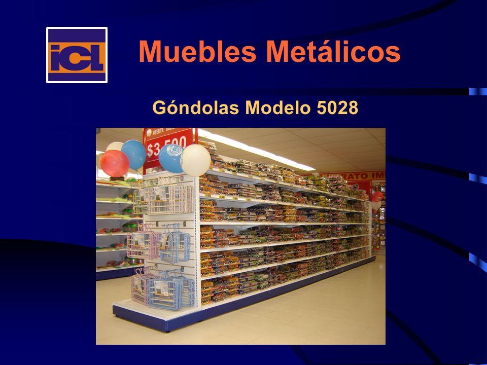 Muebles Metálicos Góndolas Modelo 5028