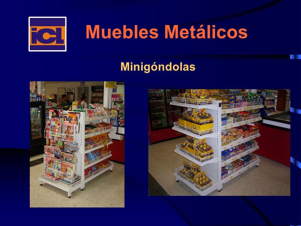 Muebles Metálicos Minigóndolas