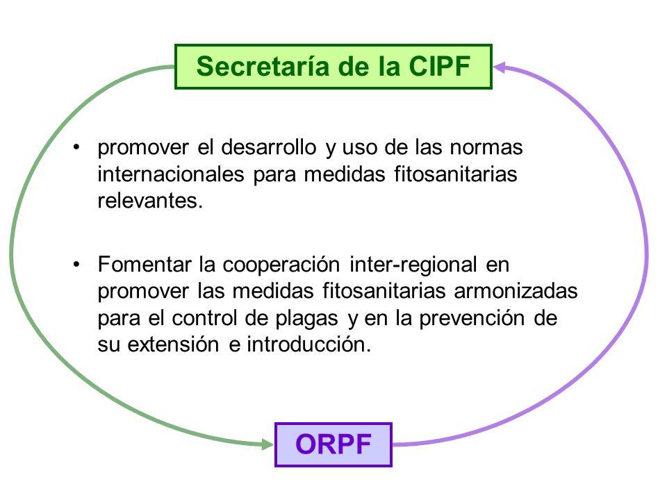 Secretaría de la CIPF ORPF