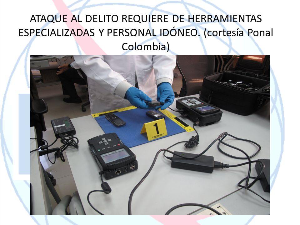ATAQUE AL DELITO REQUIERE DE HERRAMIENTAS ESPECIALIZADAS Y PERSONAL IDÓNEO.
