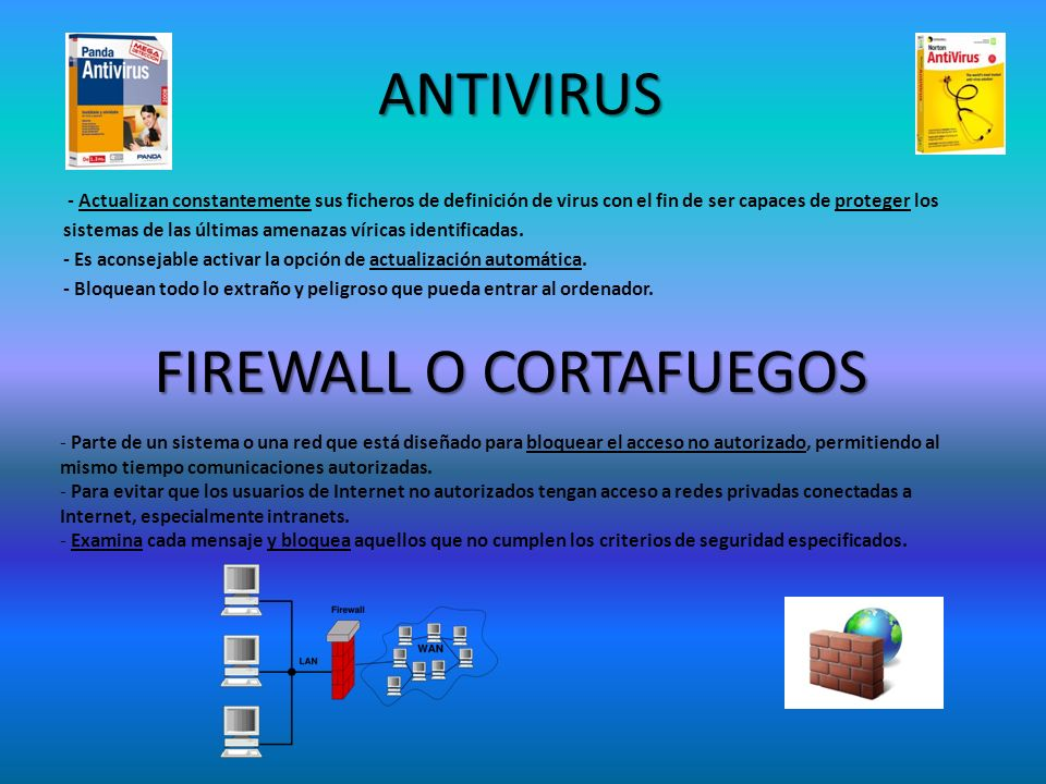 FIREWALL O CORTAFUEGOS