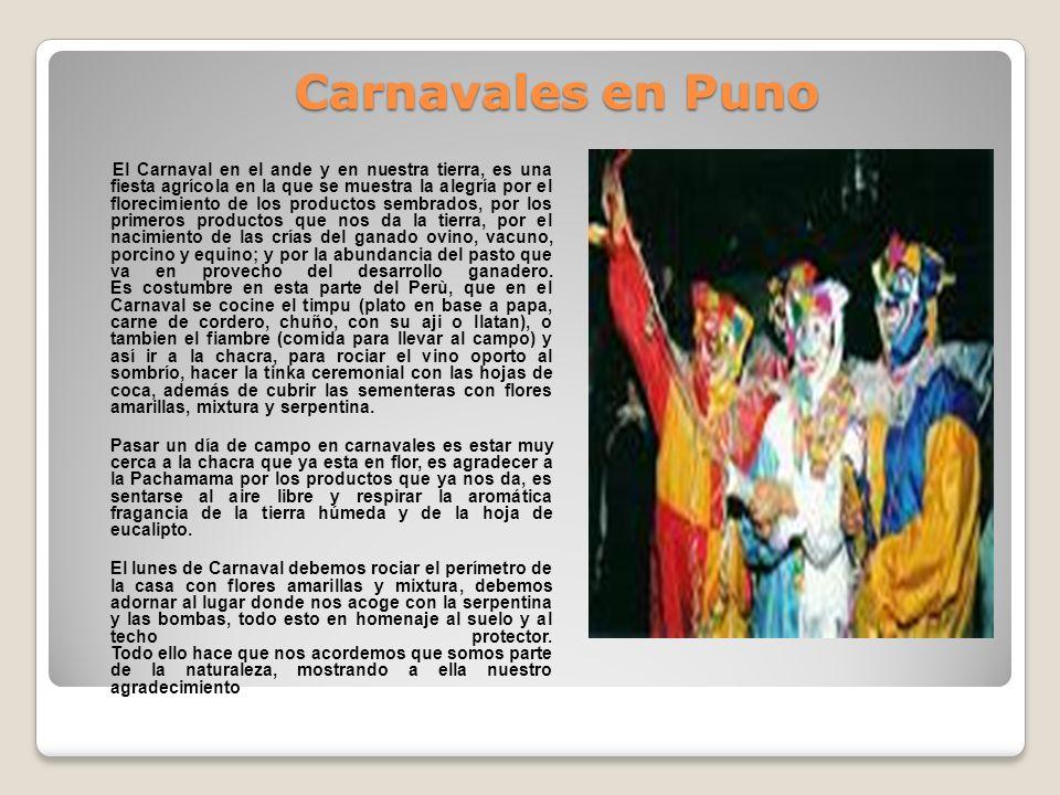 Carnavales en Puno