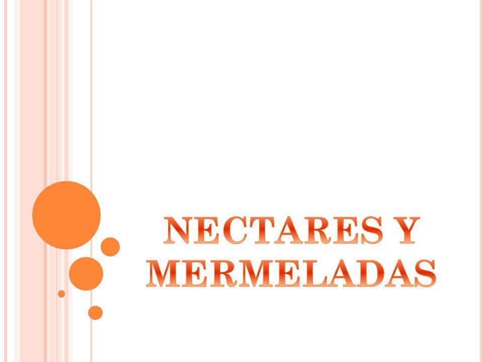 NECTARES Y MERMELADAS