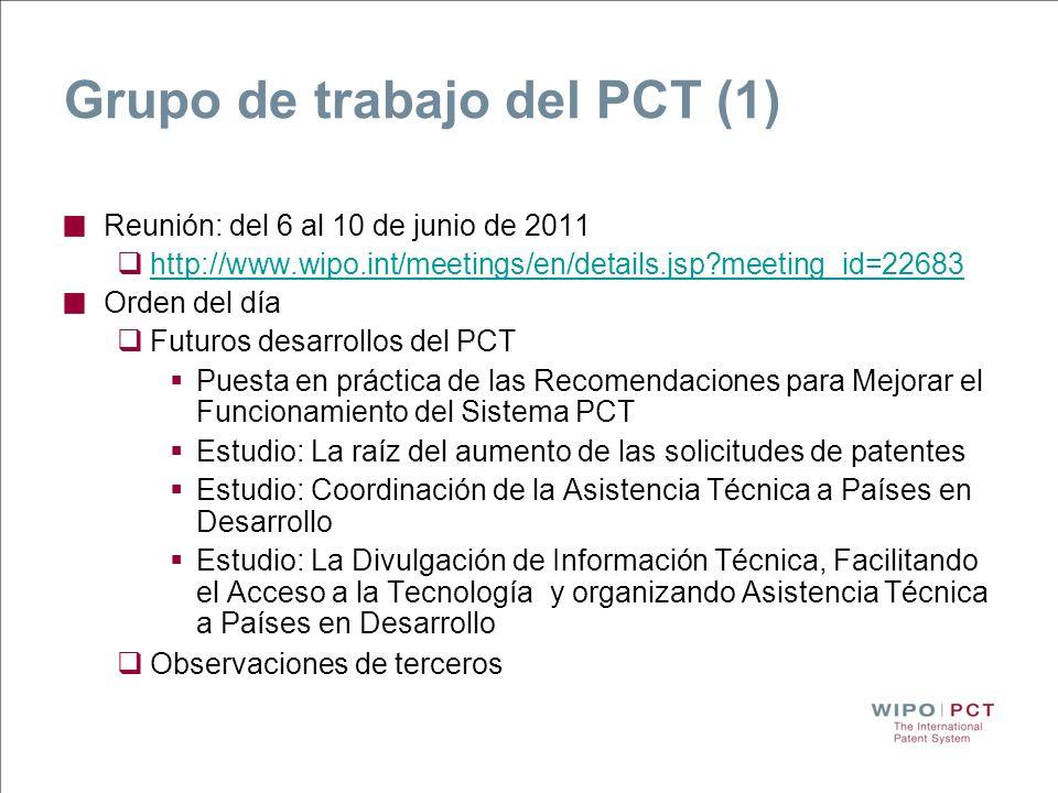 Grupo de trabajo del PCT (1)