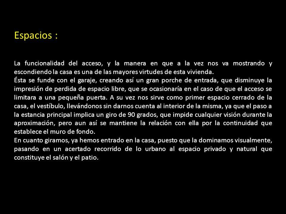 Espacios :
