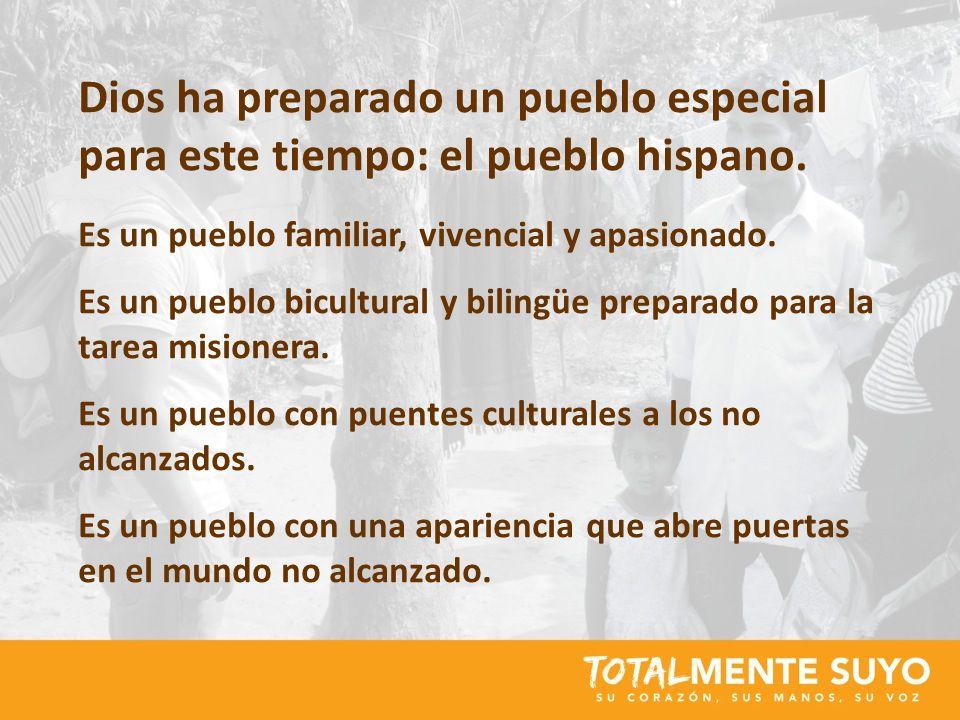 Dios ha preparado un pueblo especial para este tiempo: el pueblo hispano.