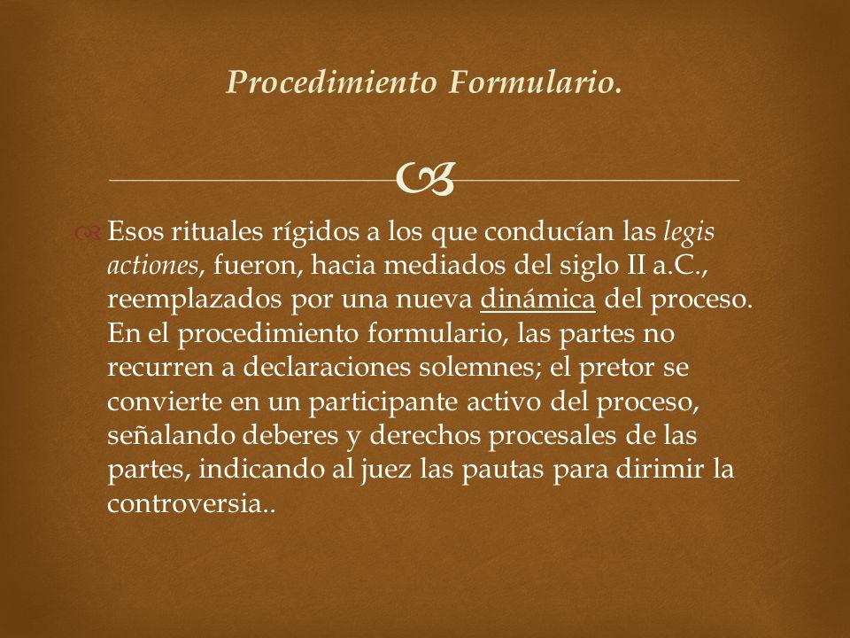 Procedimiento Formulario.
