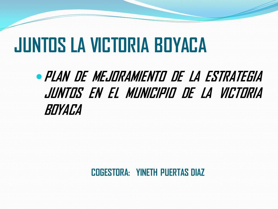 JUNTOS LA VICTORIA BOYACA