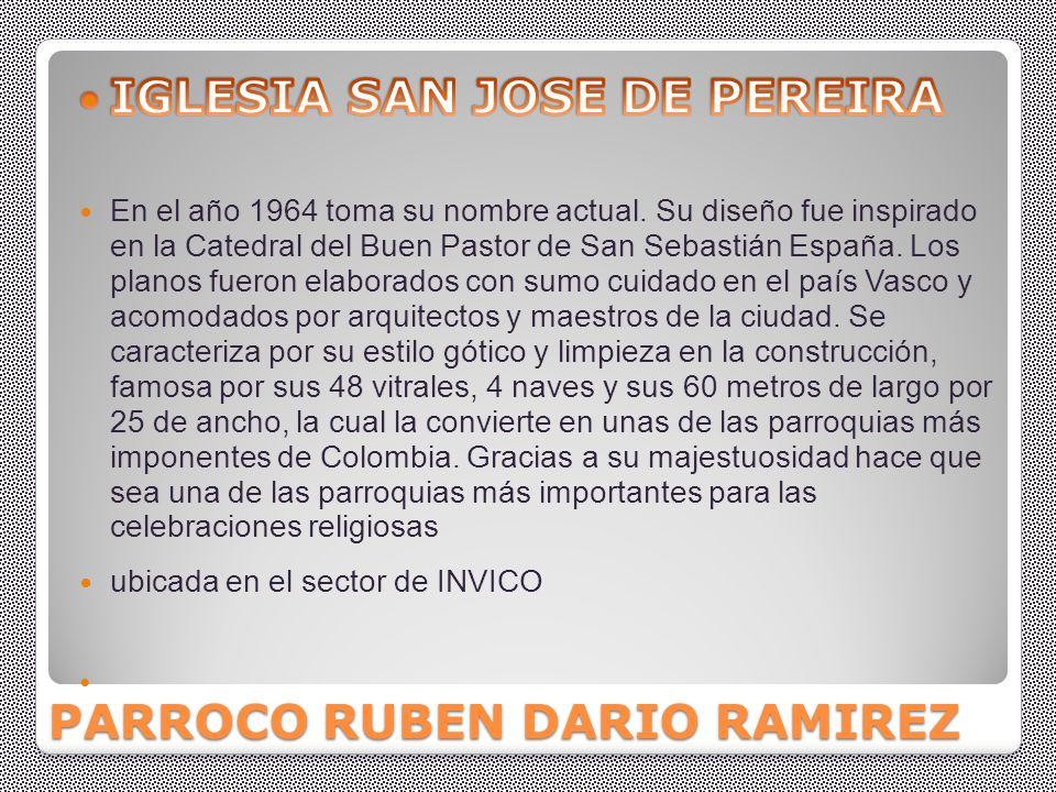 PARROCO RUBEN DARIO RAMIREZ