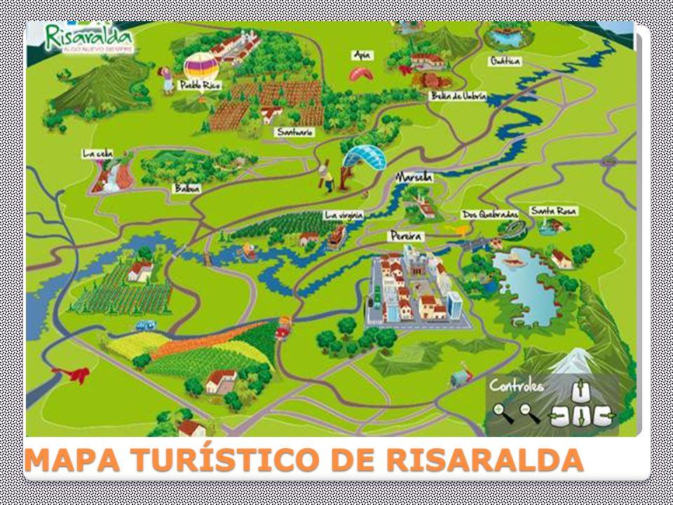 MAPA TURÍSTICO DE RISARALDA