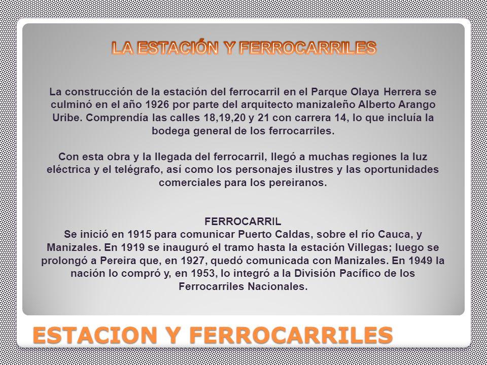 ESTACION Y FERROCARRILES