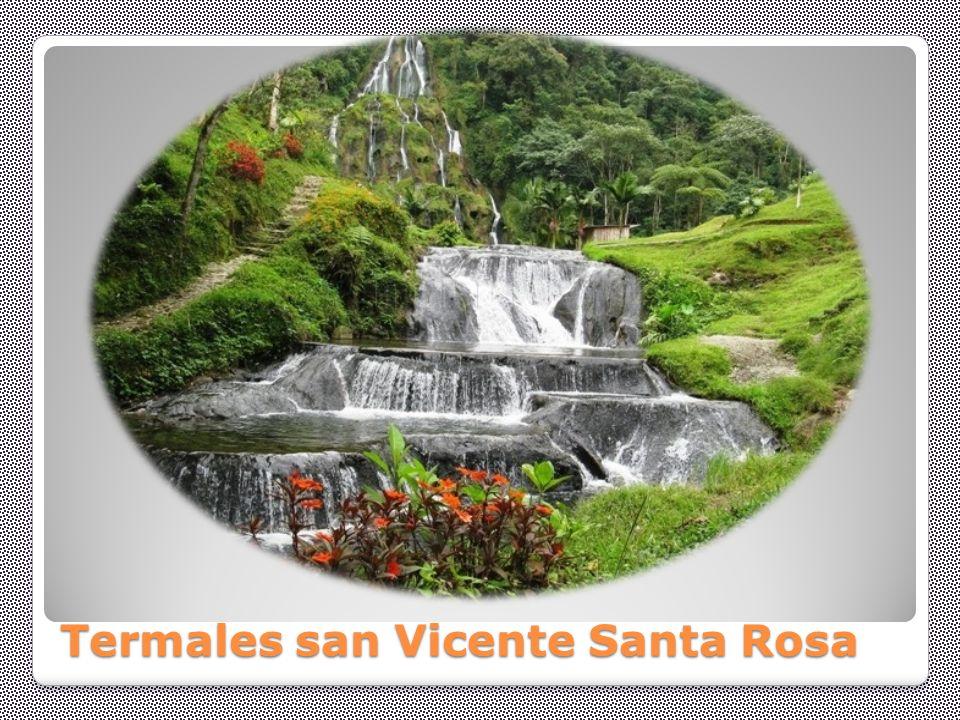 Termales san Vicente Santa Rosa