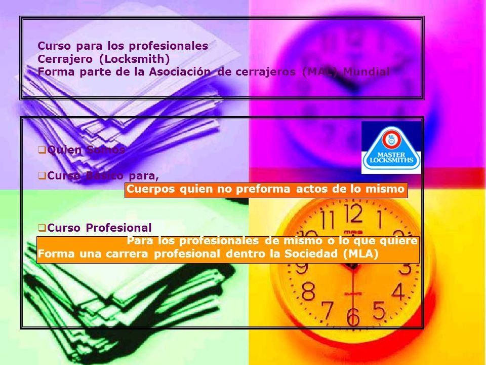 Curso para los profesionales