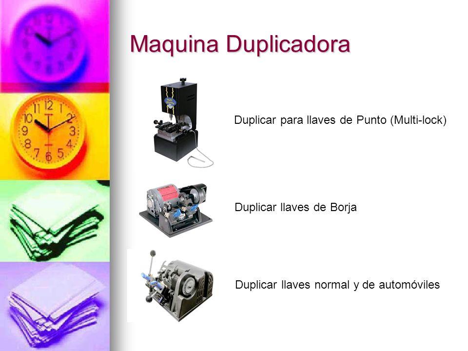 Maquina Duplicadora Duplicar para llaves de Punto (Multi-lock)