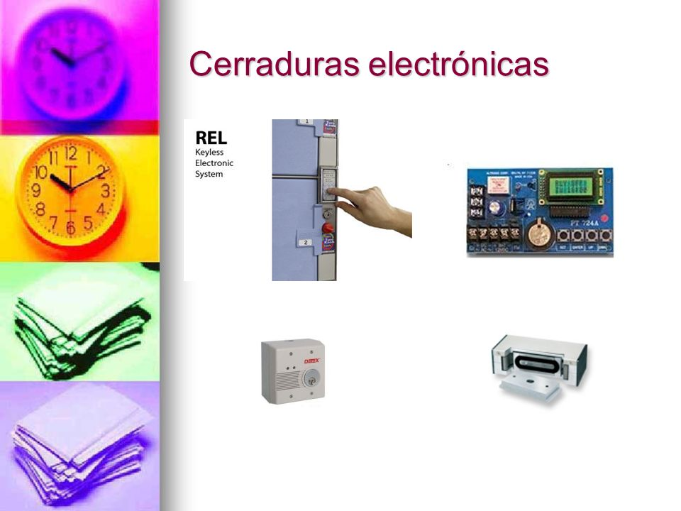 Cerraduras electrónicas