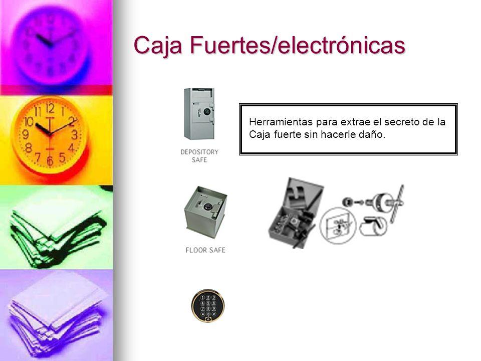Caja Fuertes/electrónicas