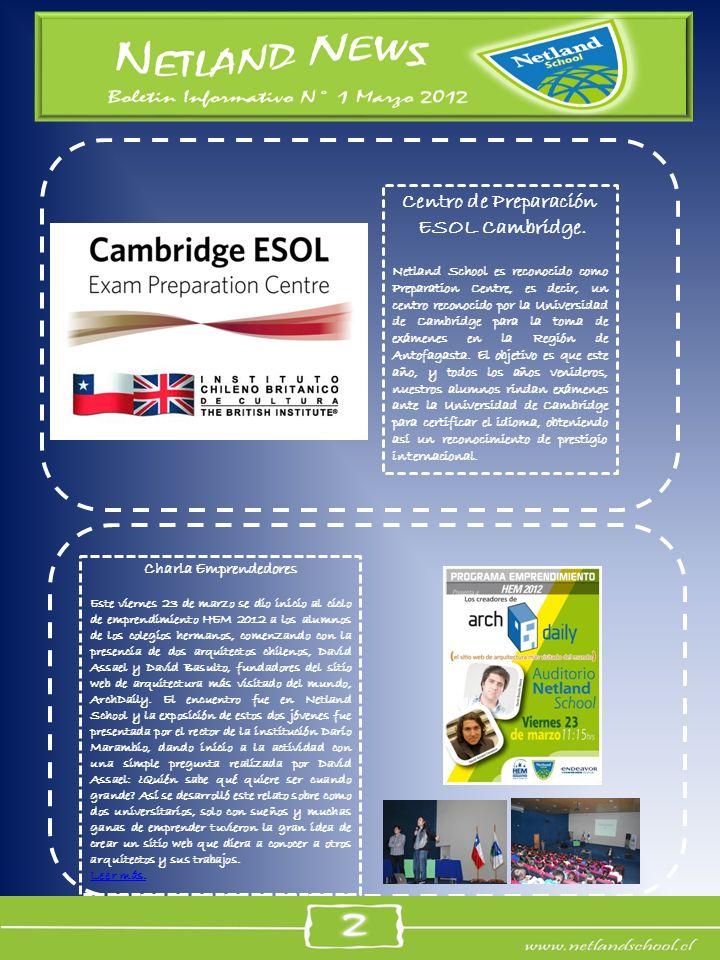 Centro de Preparación ESOL Cambridge.