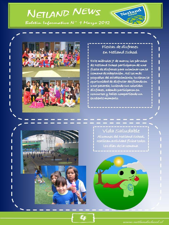 Vida Saludable Fiestas de disfraces en Netland School