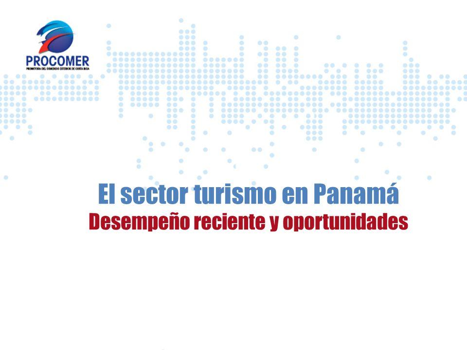 El sector turismo en Panamá Desempeño reciente y oportunidades