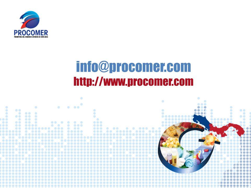 info@procomer.com http://www.procomer.com