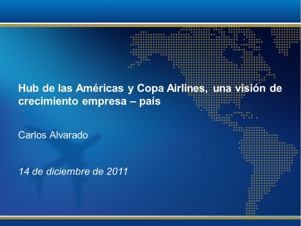 Hub de las Américas y Copa Airlines, una visión de crecimiento empresa – país