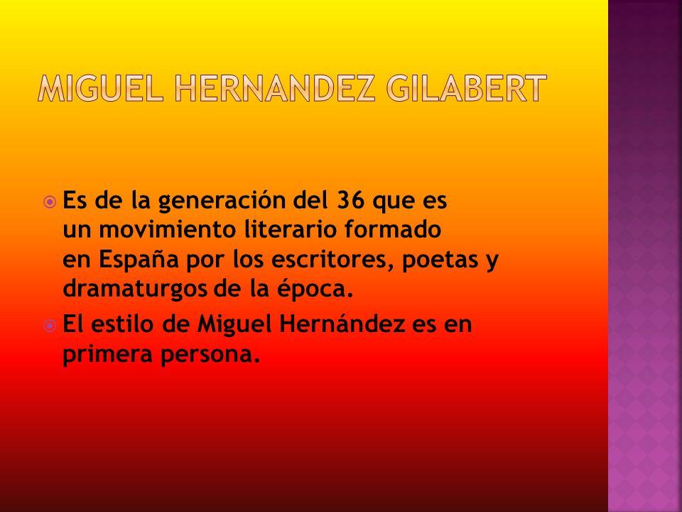 Miguel hernandez GILABERT