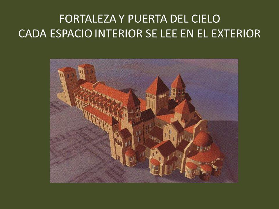FORTALEZA Y PUERTA DEL CIELO CADA ESPACIO INTERIOR SE LEE EN EL EXTERIOR