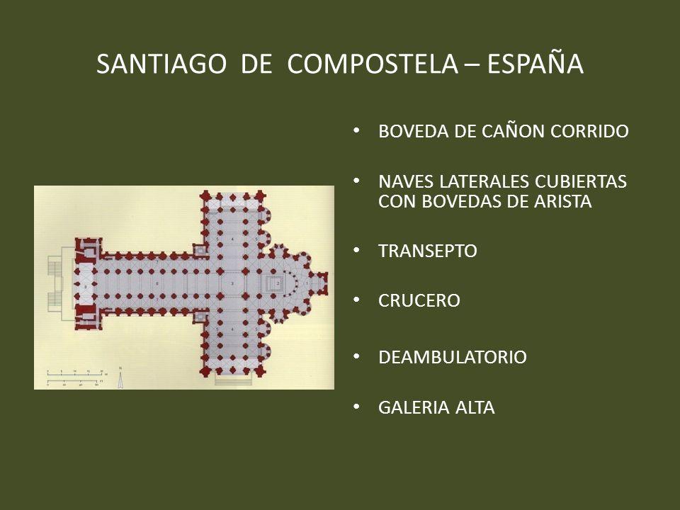 SANTIAGO DE COMPOSTELA – ESPAÑA