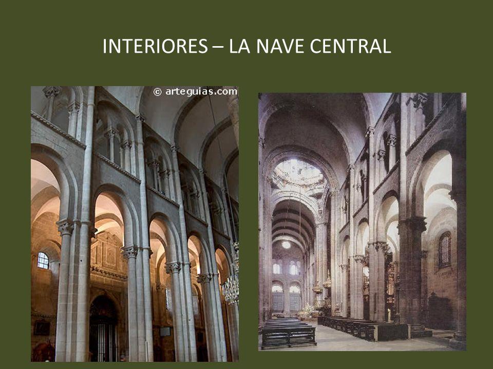 INTERIORES – LA NAVE CENTRAL