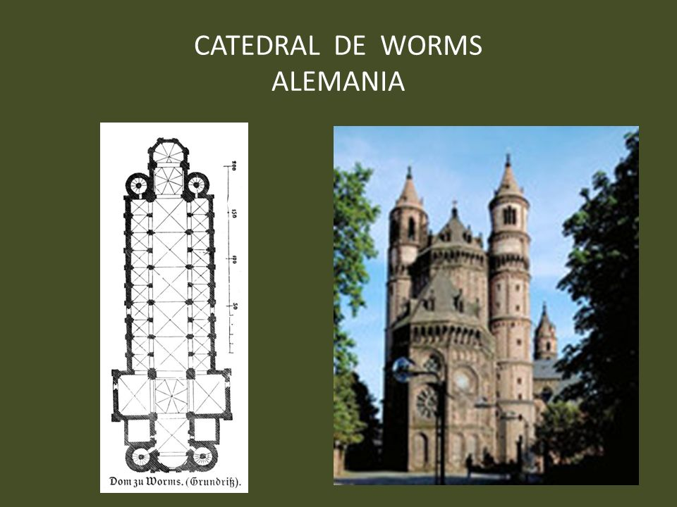 CATEDRAL DE WORMS ALEMANIA