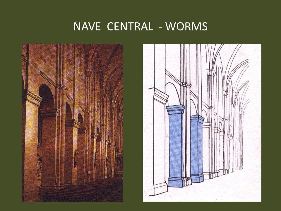 NAVE CENTRAL - WORMS
